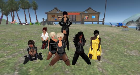 cutie, Arka, Angel, Dio, Jenny, Deli, Argi celebratring Jenny Maurer's 5th Rez Day