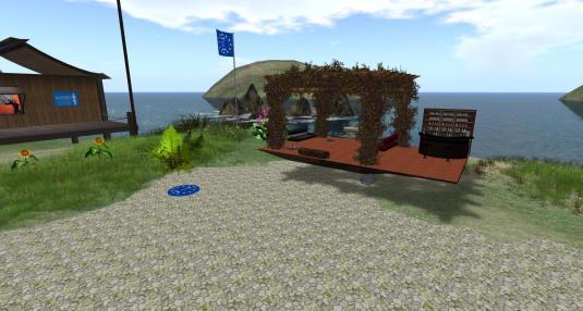 The pergola lounge