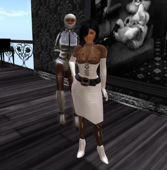 Jenny and dr.slave visiting the Secret House club