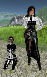 slave Flo with Jenny