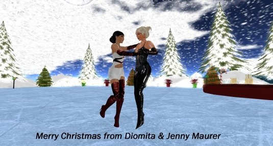 20131223 Merry Christmas from Dio and Jen