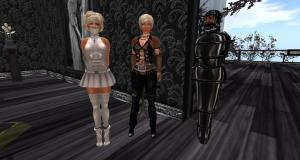 Angelique, Dio, slave Flo at The Secret House club