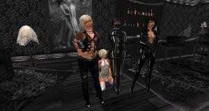 Jenny, Flo, Angel, Dio at TSH