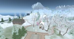Chamonix: First ever Winter Games in Second Life