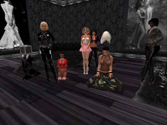 Eurobrats invading TSH: (from left to right) qt, Dio, slave, Angelique, Jenny, rona and Argi