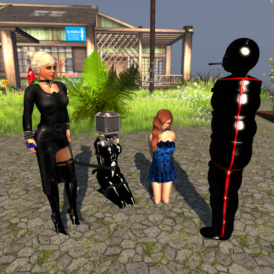 Various Kinks(2) from left to right: Dio, qt, Fae and Mii