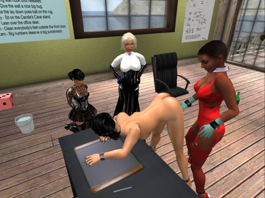 "slave flo ""examining"" slave jo"