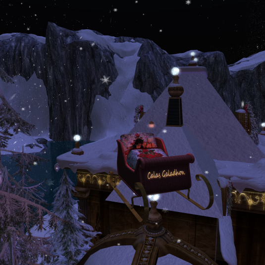 Diomita & Jenny enjoying the tour at Calas Galadhon Noel (4)
