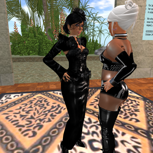 Mistress Jenny and Diomita