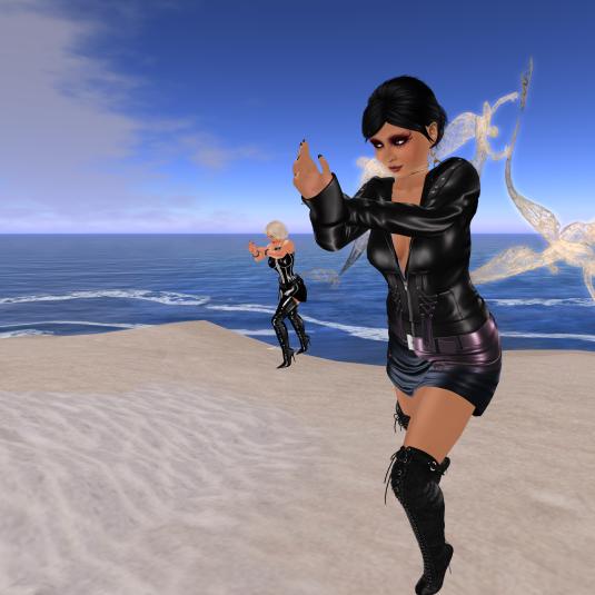 Taichi at the Otium beach