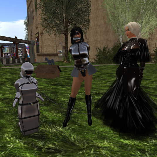 May 28th, Day 6: Dio with slave Flo and Ehesklavin at Lochme