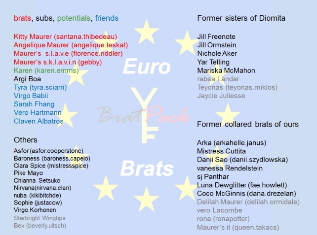 20150812 Euro Brats Overview