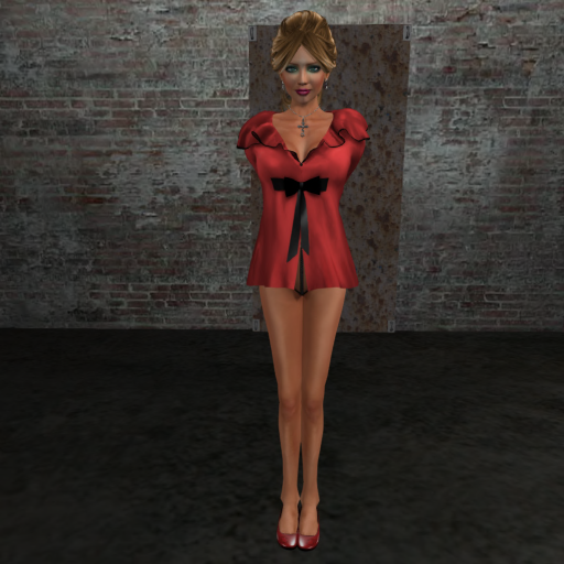 Nightwear Robe (red blouse)