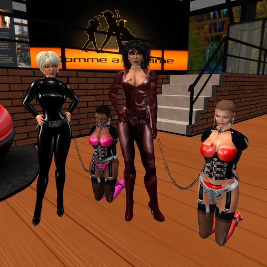 Dio, slave Flo, Jenny and sklavin at DaD