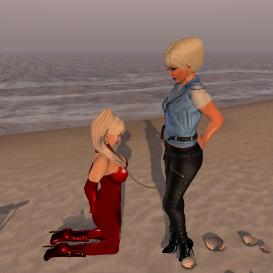 Dio and Mii at White Dunes Estates Beach (tranquility Dreams)