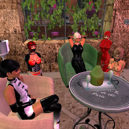 Sept, 24th: A family tour to silent Island (Jenny, Sklavin, Diomita, Mii and slave Ashley)
