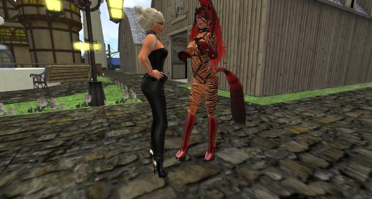Kitty Maurer during her Pony Phase in SL (picture taken January 2014)