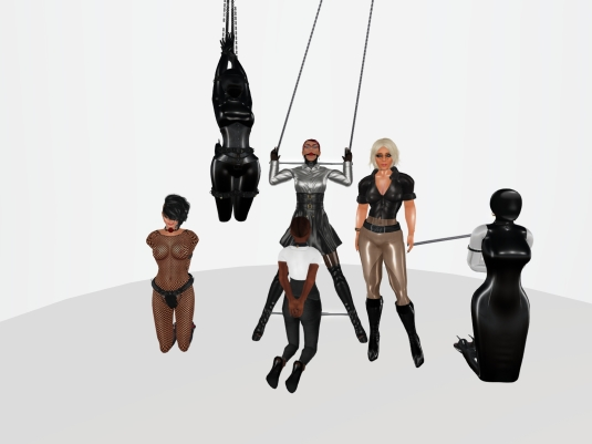 Enjoying bondage in December (2): Sklavin, slave LL, slave BW, slave Flo, Diomita and Ehesklavin