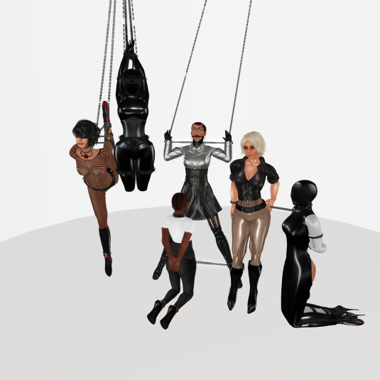 Enjoying bondage in December (3): Sklavin, slave LL, slave BW, slave Flo, Diomita and Ehesklavin