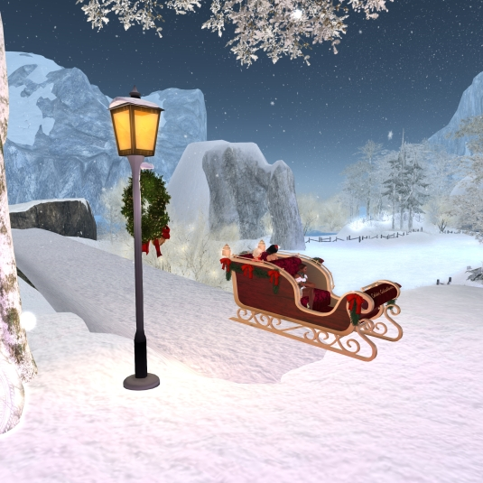 Calas Galadhon White Cristmas 2015 - the sleigh tour (2)