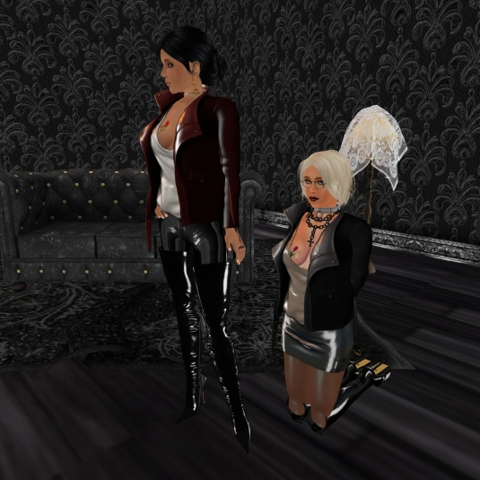 Jan 2nd: Mistress Jenny and Diomita at TSH