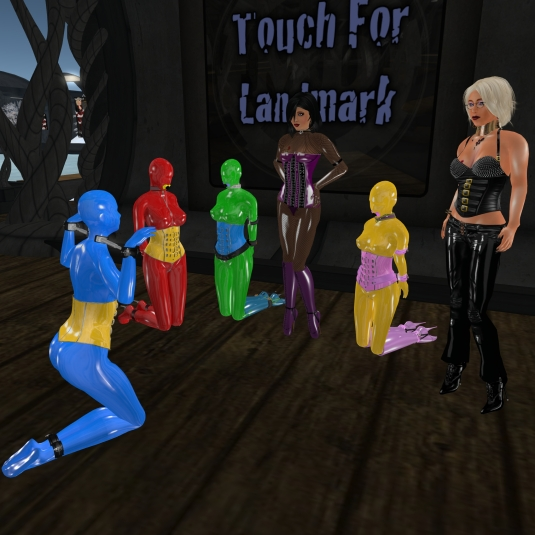 United Colours of Slavetton advertising at Mesmerize Dungeon