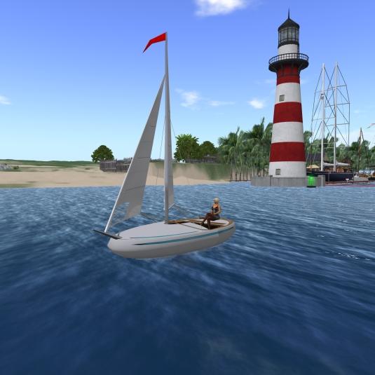 Feb 11th: Sailing my new boat Nemo 3