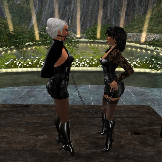 March 5th: Mistress Jenny picking up Diomita at The Cyprian Terrace (2)