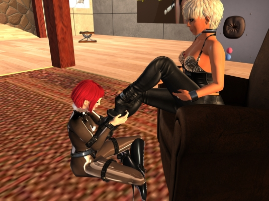 March 19th: with Orja at the Lost Domme Resort