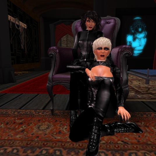 March 24th: Mistress Jenny and Diomita at club DeLust