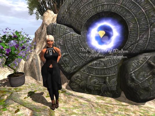 A visit to Noelia Island (2) - The stone of wisdom