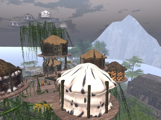 April 8th: A visit to the Jungle of Sin - sky village