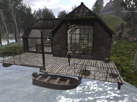 April 23rd: A visit to Devil's point - house with Office at the river shore (1)