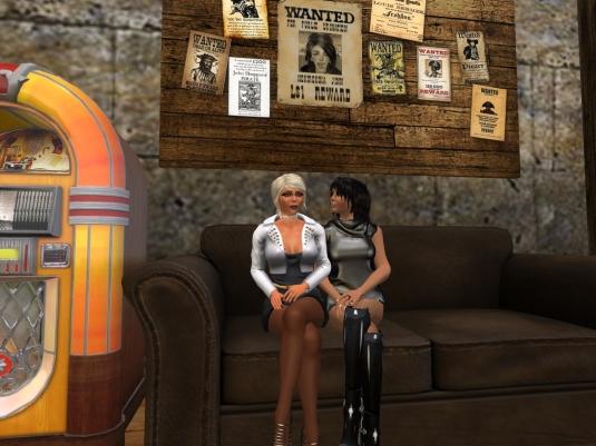 May 2nd: Jenny and Diomita visiting pirates' hideout at JPK Airship Pirates Port Town