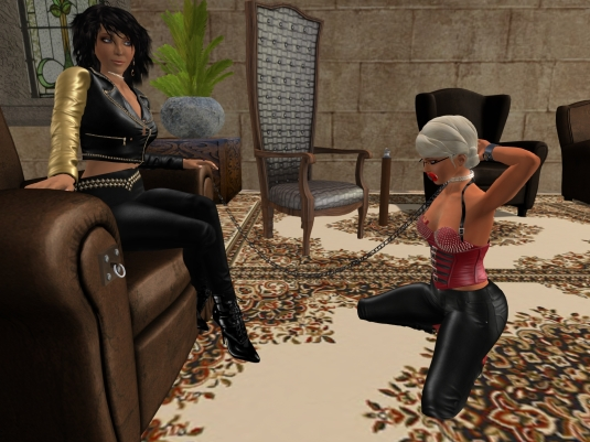 May 7th: Mistress Jenny and Diomita at Lochme