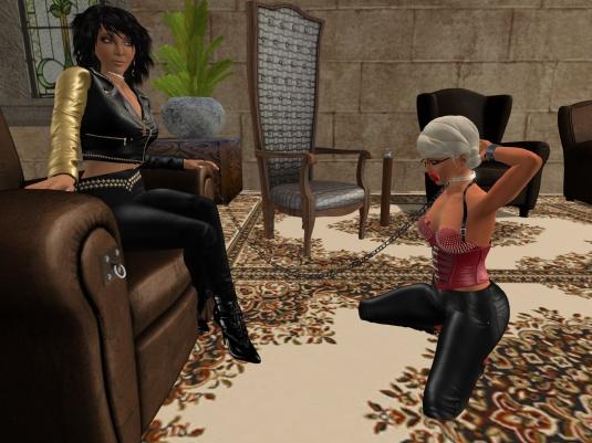 May 7th: Mistress Jenny and Diomita at Lochme