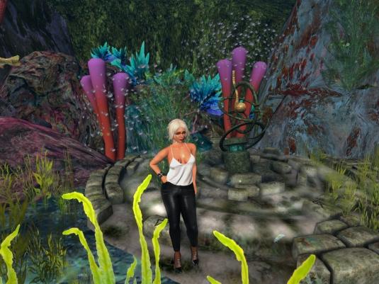 May 22nd: Diomita in the underwater garden at Alki
