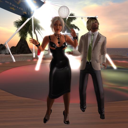 May 27th: Diomita dancing with Ed Roberts