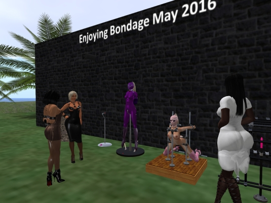 May 29th: Jenny, Dio,  sklavin, Pauline and Argi enjoying bondage May (1)