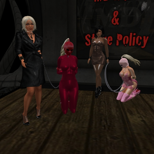 May 30th: Diomita with Jenny, slave cecy, and Pauline at MD