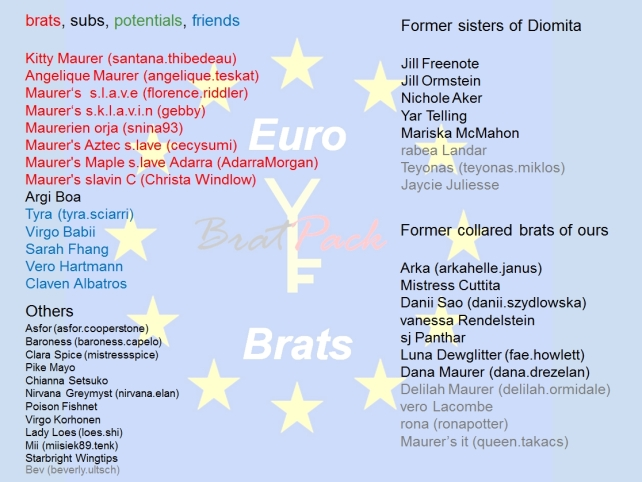 20160703 Euro Brats Overview
