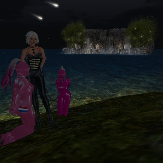 June 4th: Visiting Beautiful Suicide with the slaves (2)