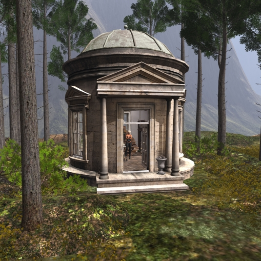 June 10th: A visit to Khaled - the folly