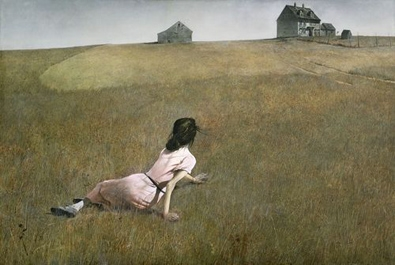 Christina's World (1948) by Andrew Wyeth (1917-2009)