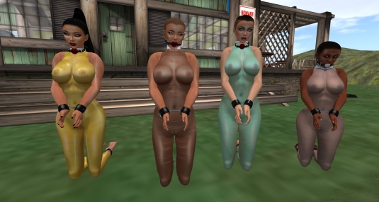 July 5th: slave Adarra, sklavin Gebby, slave cecy, slave Flo