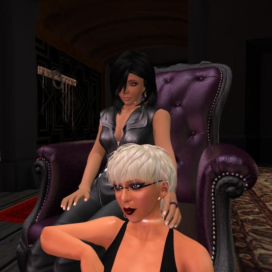 July 19th: Jenny and Diomita at club DeLust
