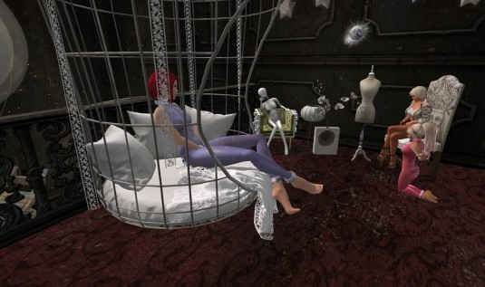 July 23rd: Discovering the new Umbral with slave Nina and slavin C (2) - picture by slave Nina (sgunjin)