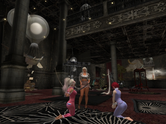 July 23rd: Discovering the new Umbral with slave Nina and slavin C (2)