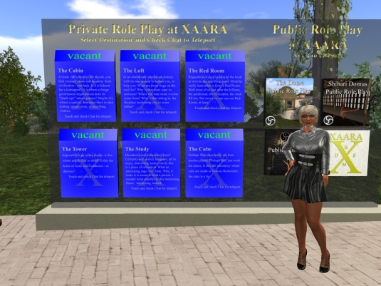 August 11th: Private and public role play at Xaara