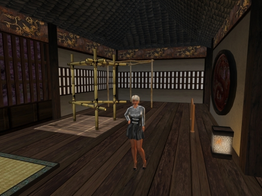 August 11th: Diomita in Xaara's shibari room